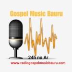 Logo da emissora Rádio Gospel Music Bauru