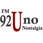 Logo da emissora Radio Nostalgia 92.1 FM