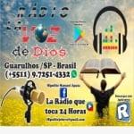 Logo da emissora Radio La Voz de Dios SP
