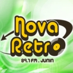 Logo da emissora Radio Nova Retro 89.1 FM