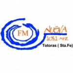 Logo da emissora Radio Nueva 105.1 FM