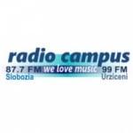 Logo da emissora Campus 87.7 FM