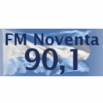 Logo da emissora Radio Noventa 90.1 FM