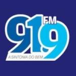 Logo da emissora Rádio 91 FM 91.9