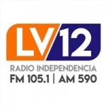 Logo da emissora Radio Independencia 105.1 FM
