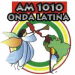 Logo da emissora Radio Onda Latina 1010 AM