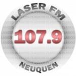 Logo da emissora Radio Laser 107.9 FM