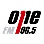 Logo da emissora Radio One 106.5 FM