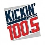 Logo da emissora Radio KIKN 100.5 FM