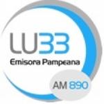 Logo da emissora Radio Pampeana 890 AM