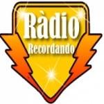 Logo da emissora Rádio Recordando