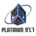 Logo da emissora Radio Platinum 97.7 FM
