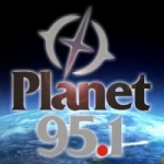 Logo da emissora Radio Planet 95.1 FM