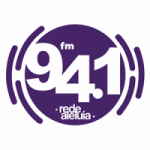 Logo da emissora Rádio Rede Aleluia 94.1 FM