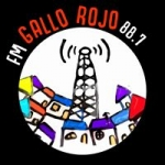 Logo da emissora Radio Gallo Rojo 88.7 FM