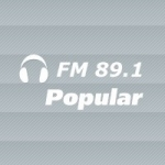 Logo da emissora Radio Popular 89.1 FM