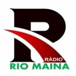 Logo da emissora Rádio Rio Maina