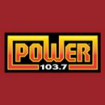 Logo da emissora Radio Power 103.7 FM
