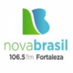 Logo da emissora Rádio Nova Brasil 106.5 FM