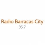 Logo da emissora Radio Barracas City 95.7 FM