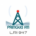 Logo da emissora Radio Pringles 100.3 FM