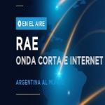 Logo da emissora Radio RAE 5000 SW