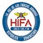 Logo da emissora Radio HIFA 106.9 FM