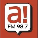 Logo da emissora Radio Ahora 98.7 FM