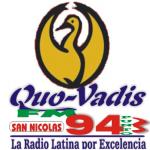 Logo da emissora Radio Quo Vadis 94.3 FM