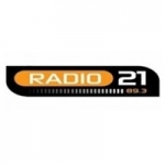 Logo da emissora Radio 21 89.3 FM
