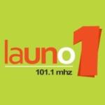 Logo da emissora Radio La Uno 101.1 FM