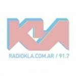 Logo da emissora Radio KLA 91.7 FM