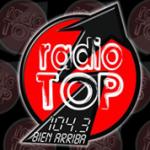Logo da emissora Radio Top 104.3 FM
