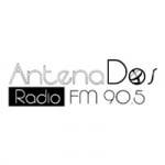 Logo da emissora Radio Antena Dos 90.5 FM