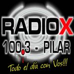 Logo da emissora Radio X Pilar 100.3 FM