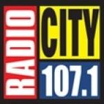 Logo da emissora Radio City 107.1 FM