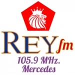 Logo da emissora Radio Rey 105.9 FM