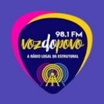 Logo da emissora Rádio Voz do Povo FM