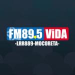 Logo da emissora Radio FM Vida 89.5