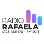Logo da emissora Radio Rafaela 1470 AM 107.5 FM