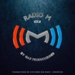 Logo da emissora Radio M 101.5 FM
