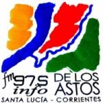 Logo da emissora Radio FM de Los Astos 97.5