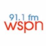 Logo da emissora WSPN 91.1 FM