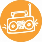 Logo da emissora Rádio Itatiba