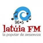 Logo da emissora Radio La Túia 96.5 FM