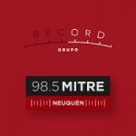 Logo da emissora Radio Record 98.5 FM