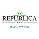 Logo da emissora Radio República 99.9 FM