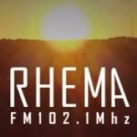 Logo da emissora Radio Rhema 102.1 FM