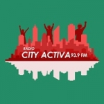 Logo da emissora Radio City Activa 93.9 FM