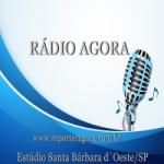Logo da emissora Rádio Agora